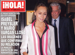 Mario Vargas Llosa e Isabel Preysler: cena para dos, según '¡Hola!'