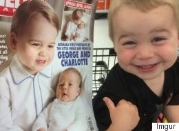 This Little Kid Thinks He's Prince George (He Isn't)