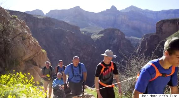 paralyzed man grand canyon