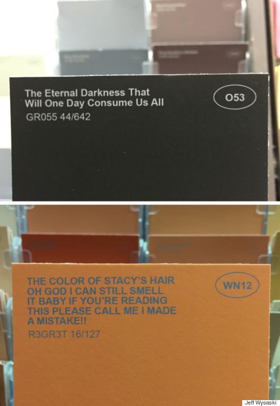Ridiculous Paint Color Names