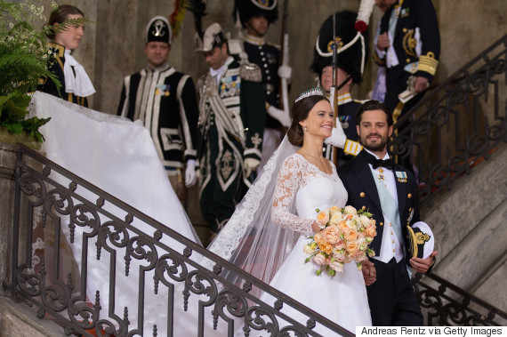 Real Royal Weddings: Sweden's Prince Carl Philip Marries Reality Star Sofia