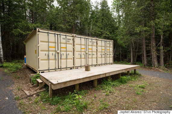 Tiny Home Designs: Ottawa Man Builds Shipping-Container Home To Help People