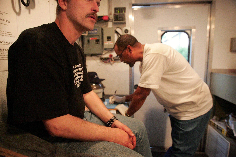 needle exchange program