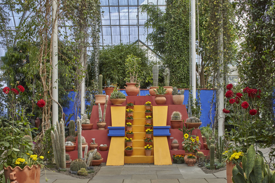 new yorkers, here's your chance to visit frida kahlo's garden