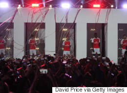 Arsenal Launch New Puma Kit For 2015/16