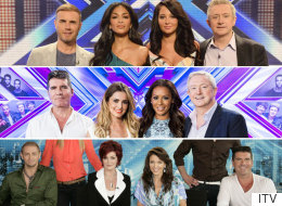 There's Been A LOT Of 'X Factor' Judges Over The Years