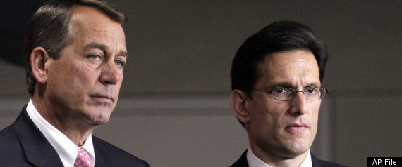 REPUBLICANS DEBT CEILING CANTOR BOEHNER