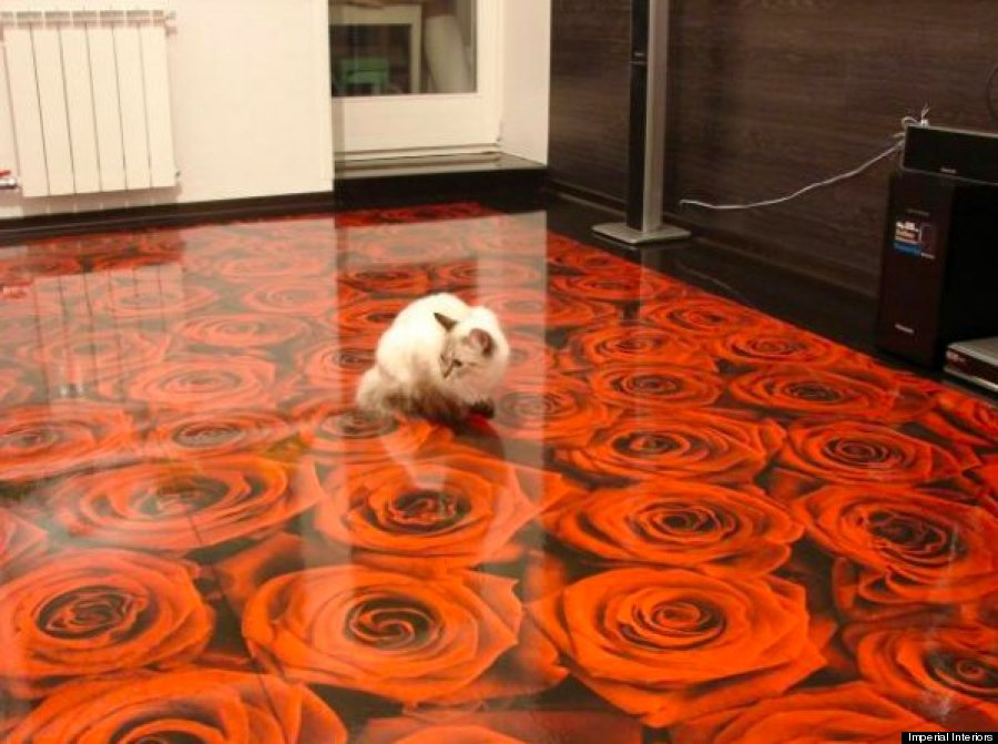 The 3D Floors Can Be Completely Customised And Personalised, With Items  Like Coins, Stones And Miniature Sculptures Able To Be Embedded In The  Design.