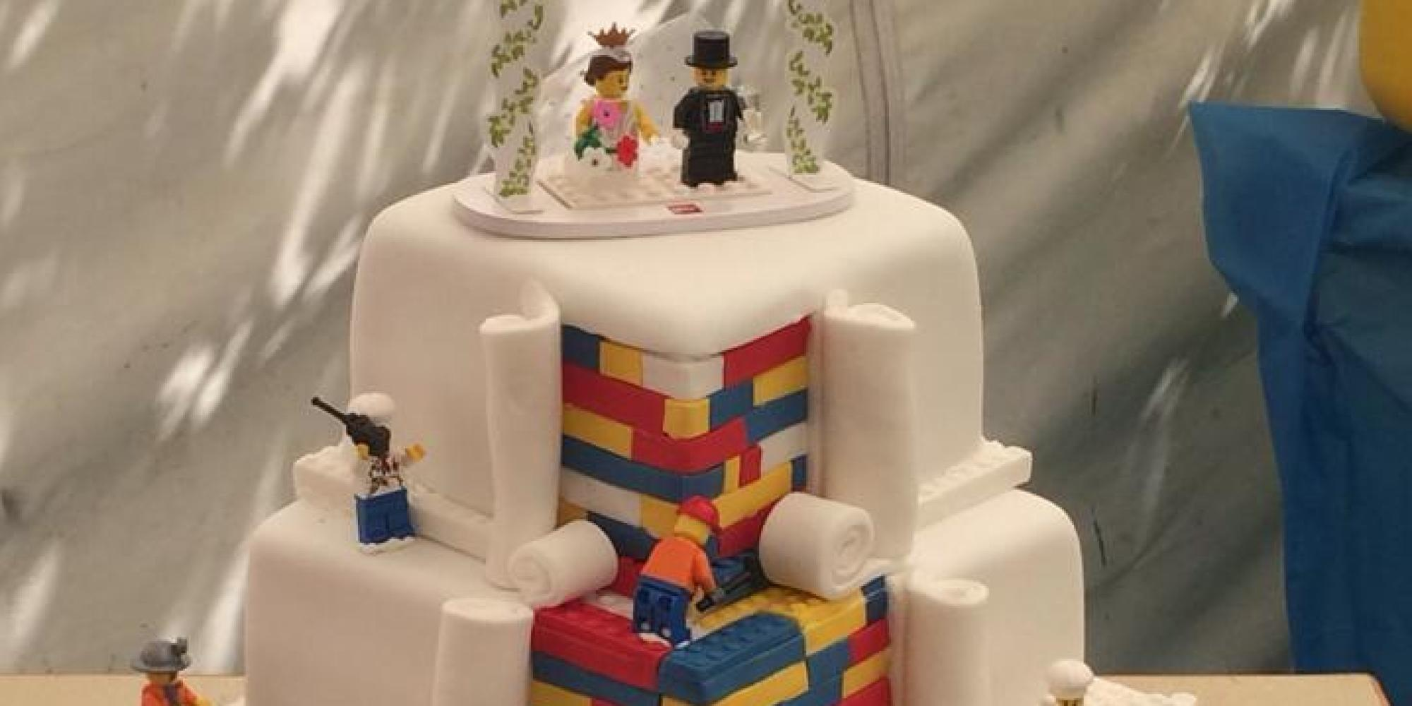 Baker Behind Amazing Lego Cake Forced To Refuse Orders
