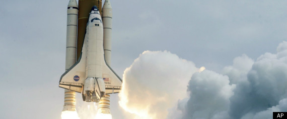 ATLANTIS SHUTTLE TAKEOFF