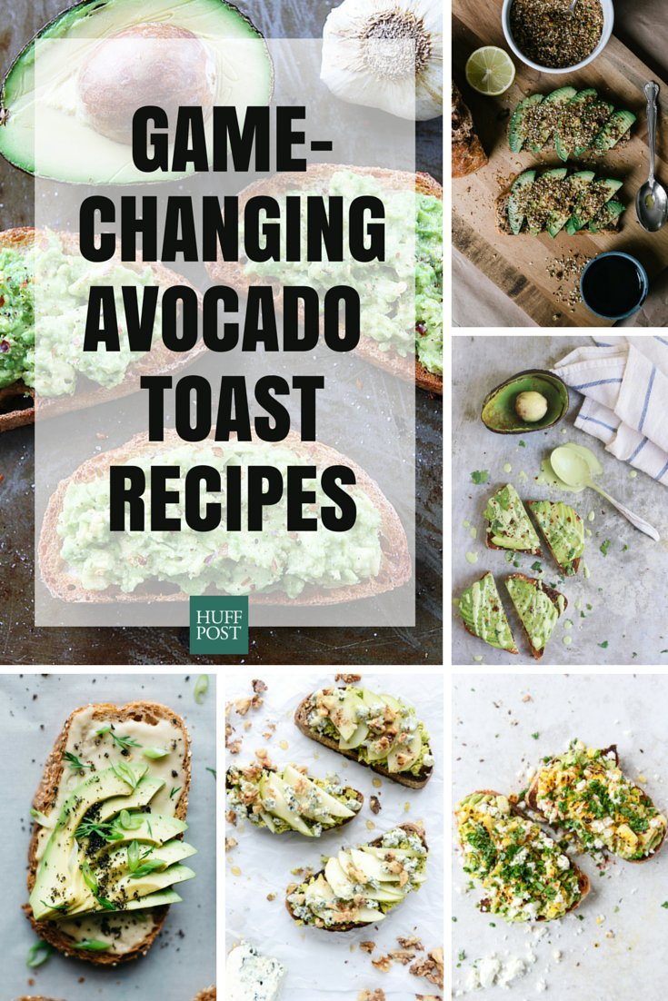 original 16 avocado toast recipes that will instantly upgrade your life