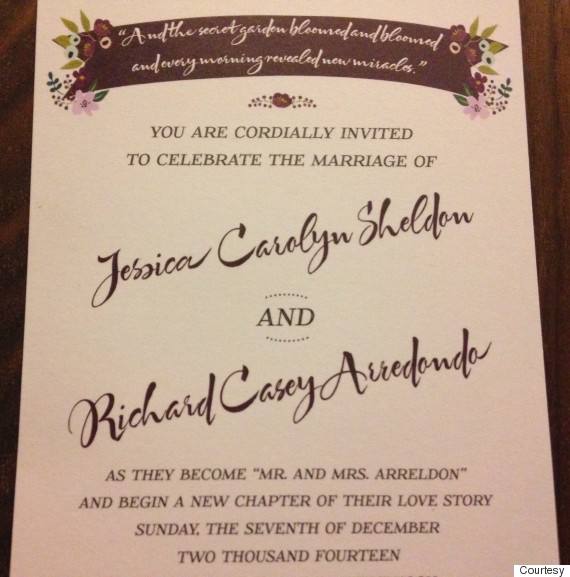 invite - Whose Name Goes First On Wedding Invitation