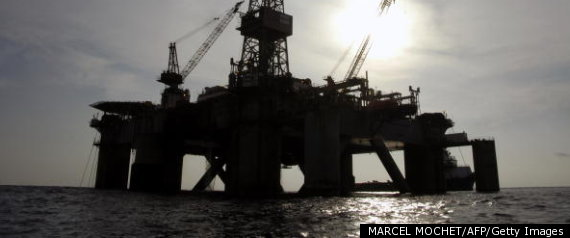 OIL PLATFORM IN ANGOLA