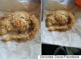 A Man Is Claiming He Went To KFC And They Served Him A Deep-Fried Rat