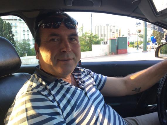 economic crisis greece taxi driver asche