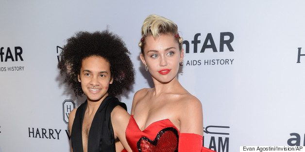Miley Makes A Statement In More Ways Than One At The amfAR Gala