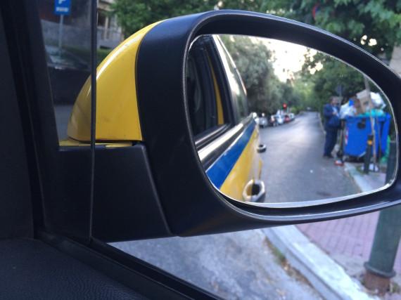 greece crisis taxi athens christoph asche