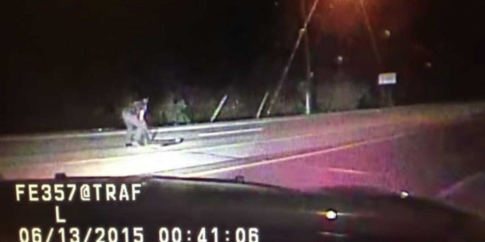 'GOT HIM!': Video Shows Deputy Spiking The Getaway Van Of ...
