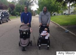 20 fotos que muestran lo que es ser un papá 'amo de casa'