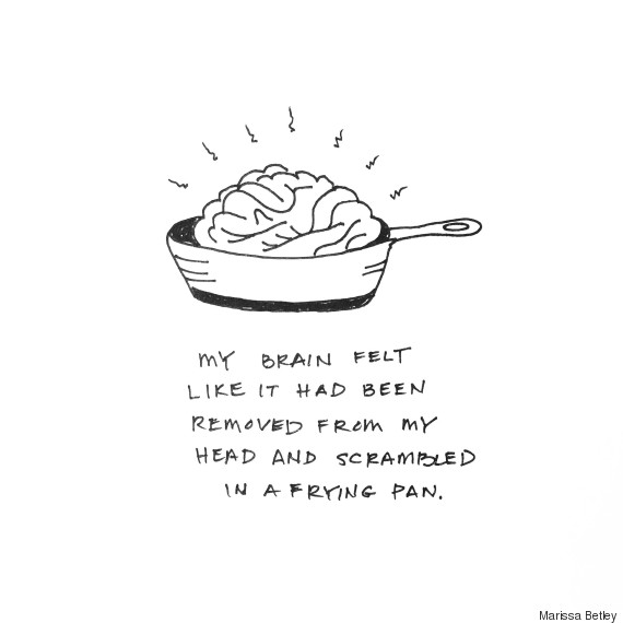24 Spot On Illustrations That Combat Mental Health Stigma Huffpost