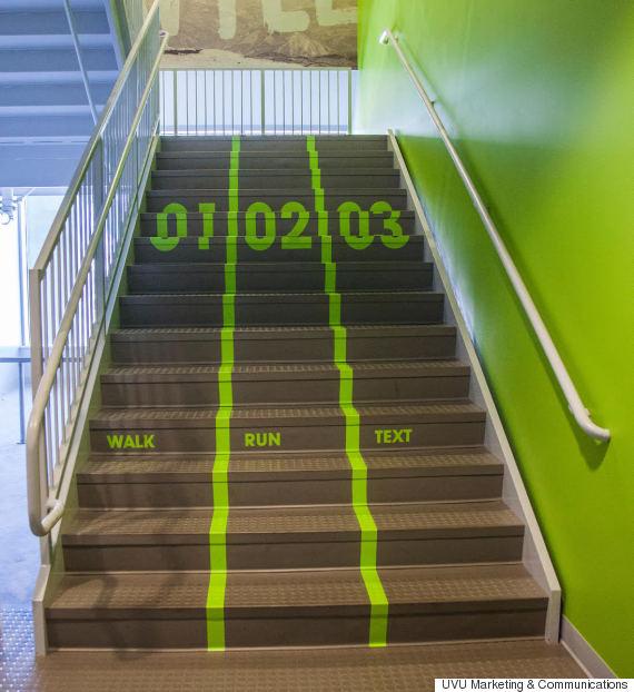 Stupendous Utah Valley University Designs Texting Lane For Students Download Free Architecture Designs Intelgarnamadebymaigaardcom