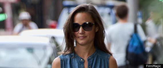 PIPPA MIDDLETON DENIM DRESS