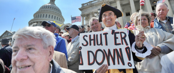 Tea Party Debt Ceiling