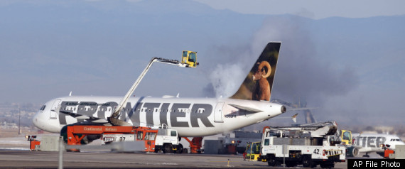 FRONTIER PLANES DAMAGED