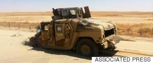 IRAQ HUMVEE
