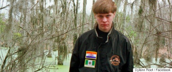dylann roof facebook photo