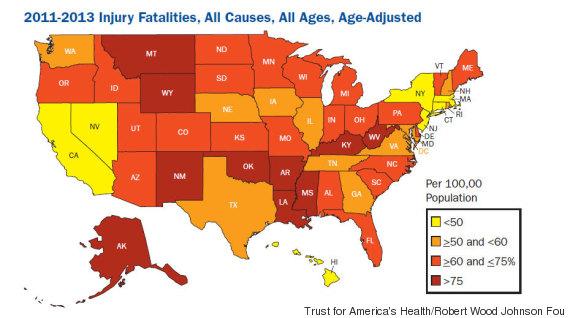 injury fatalities
