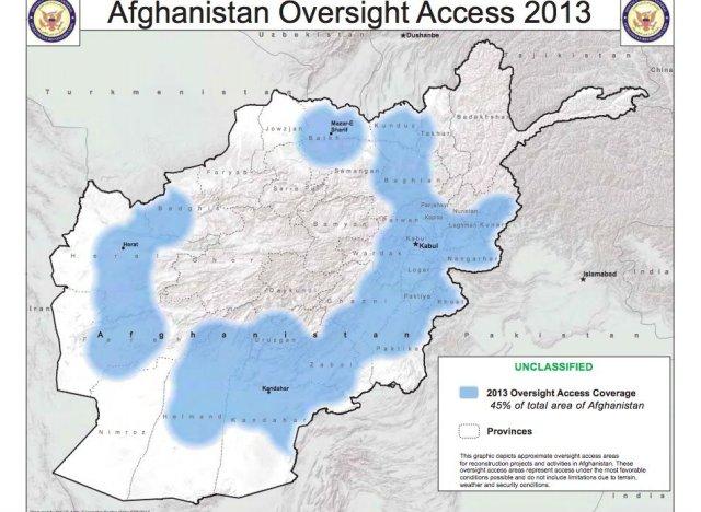 sigar afghanistan 2013