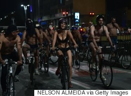 World Naked Bike Ride Bares Creative Soul of Mexico City