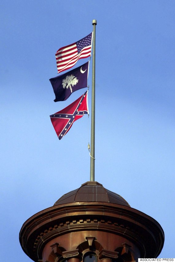confederate flag columbia