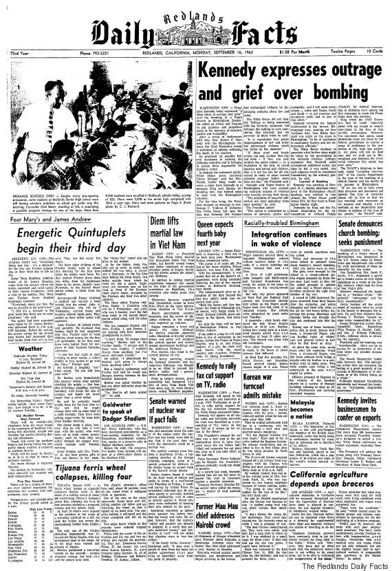 redlands california newspaper
