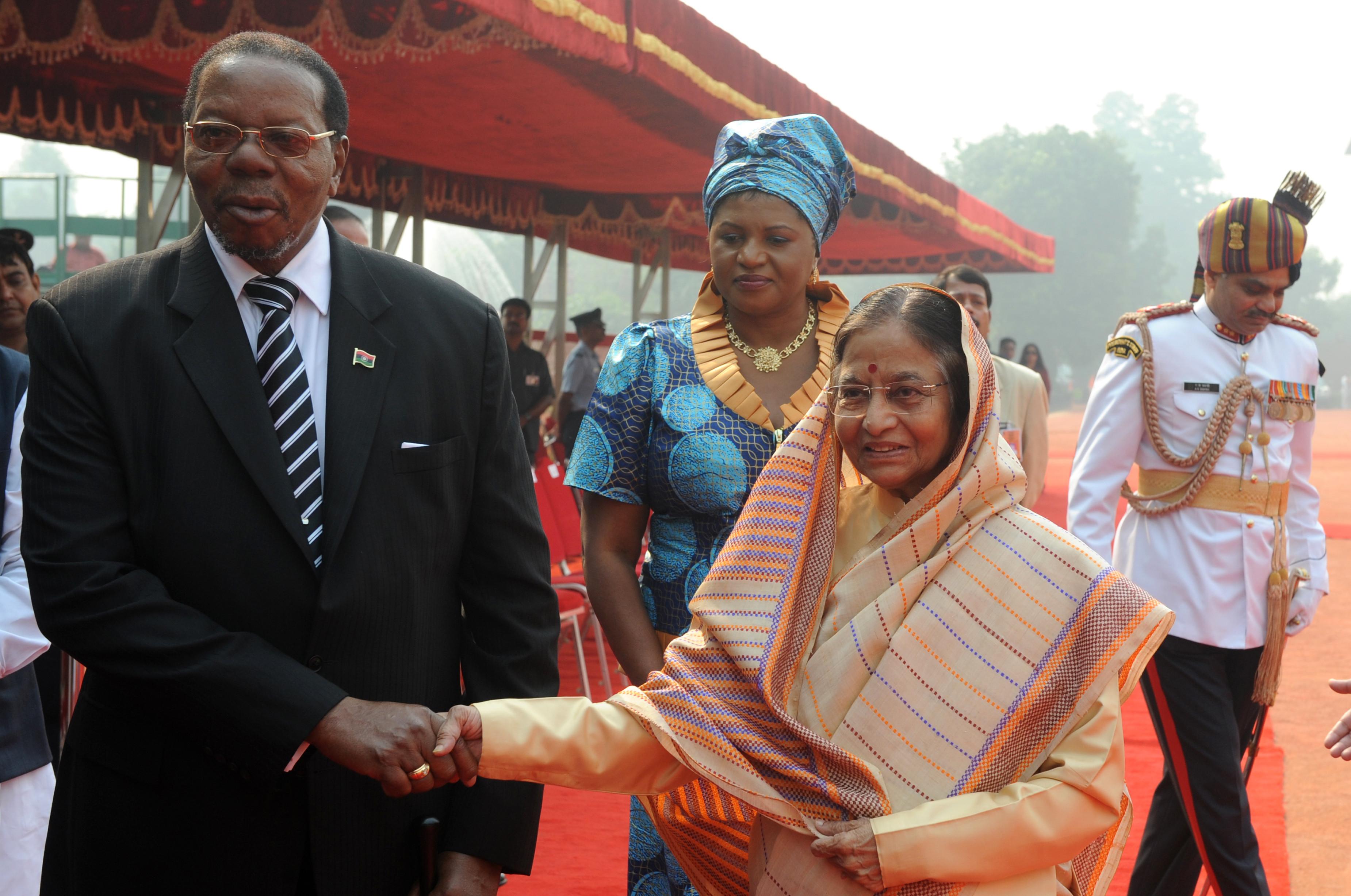 malawi india visit