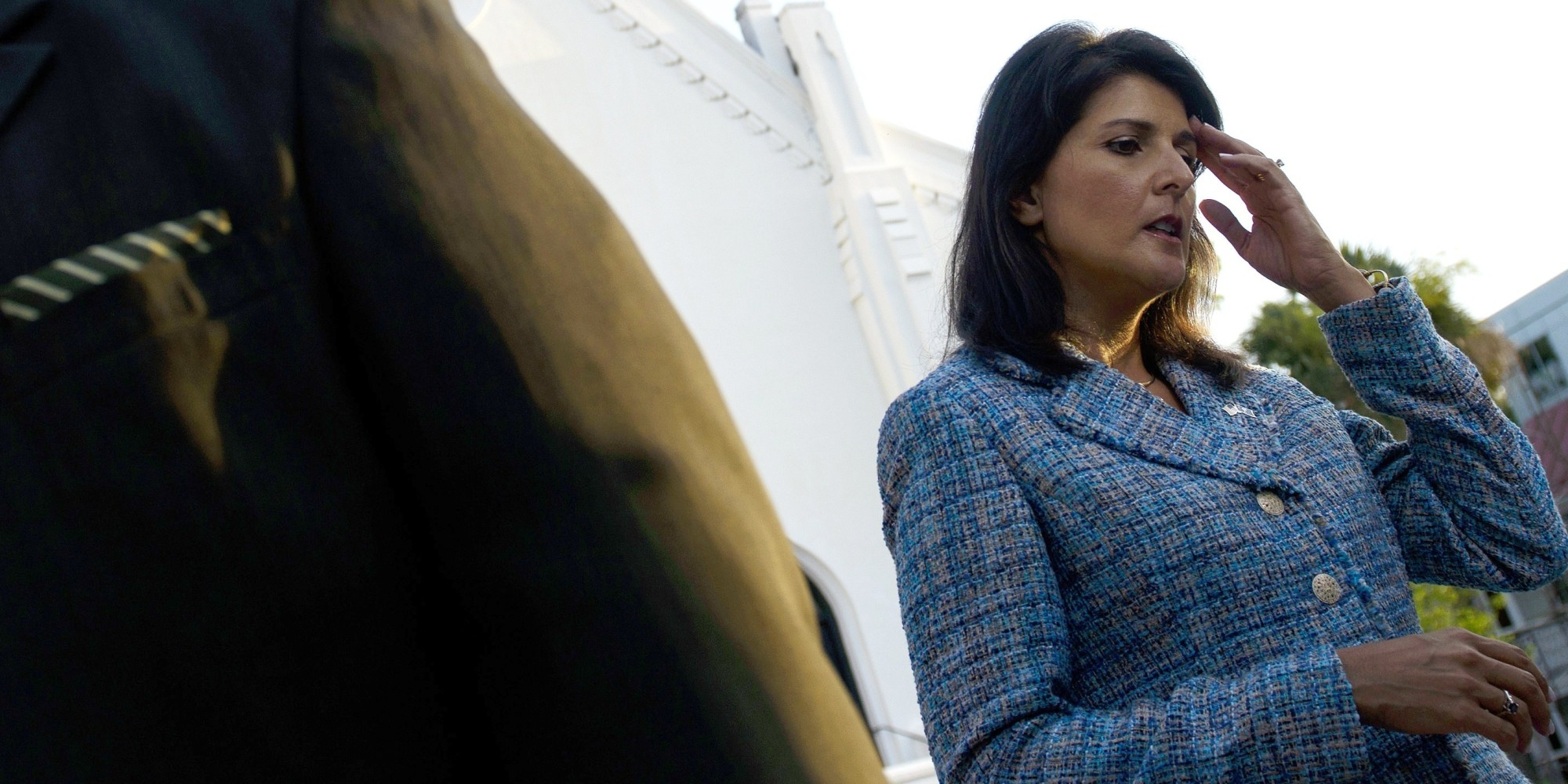 Nikki Haley Mark Sanford Weigh In On Confederate Flag Debate Huffpost