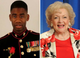 Betty White Marine Corps Ball