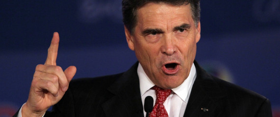 Rick Perry Government Spending
