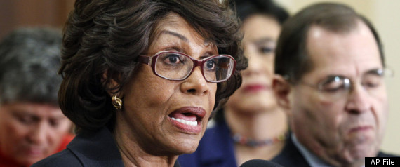 MAXINE WATERS ETHICS INVESTIGATION