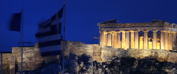 GREECE CRISIS PARTHENON