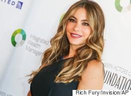 Sofía Vergara compartió una bella 'selfie' sin maquillaje