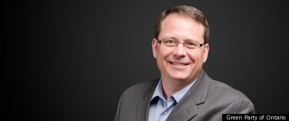 MIKE SCHREINER GREEN PARTY OF ONTARIO