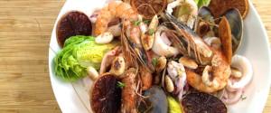Coquillages Crustaces Sautes Suc Agrumes