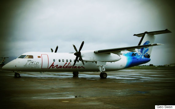 island aviation bombardier dash 8