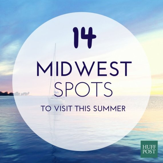 14 Midwestern Spots That Are Actually Awesome In Summer – Midwest Tourist Attractions Map