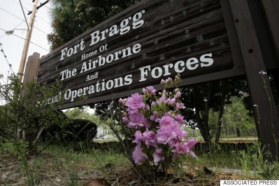 fort bragg entrance