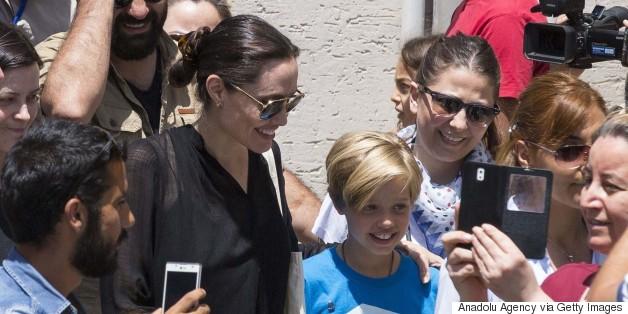 Angelina Jolie, Shiloh Visit Turkey