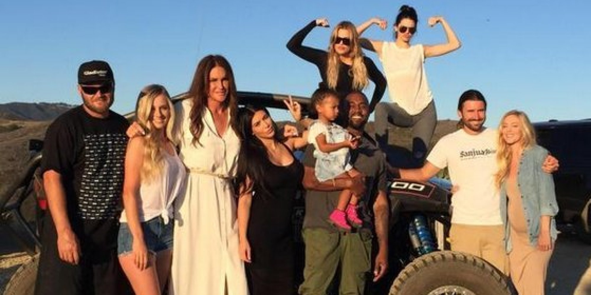 Caitlyn Jenner Shares Family Photo From Father's Day | HuffPost