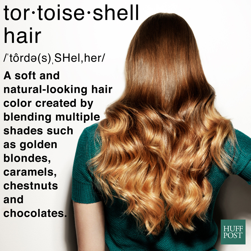 tortoise shell hair